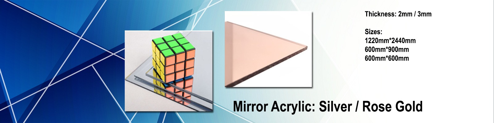 Acrylic Mirror by iPlastics