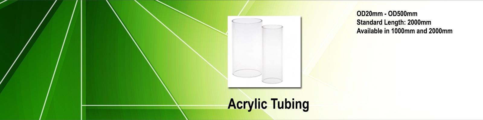 Acrylic Tubing by iPlastics