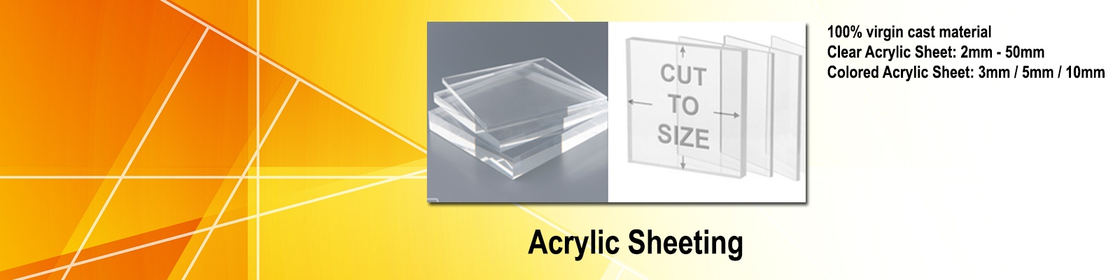 Acrylic Sheeting by Iplastics