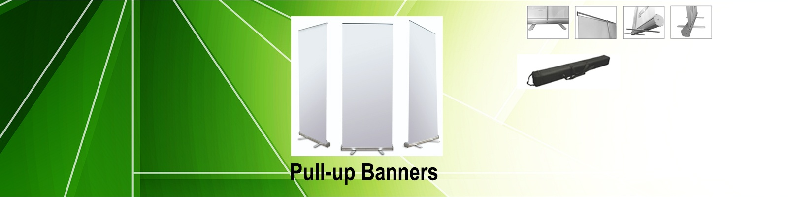 Pull-up Banners by iPlastics